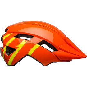 Bell Sidetrack II Helm Jongeren, strike gloss orange/yellow